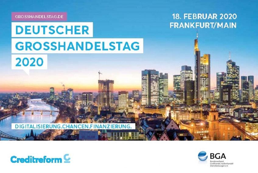 Deutscher Großhandelstag 2020 am 18.02.2020 in Frankfurt