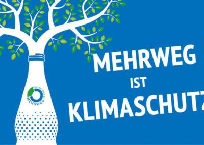 """""""Mehrweg ist Klimaschutz"""" startet in nächste Runde"""