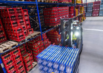 Getränkefachgroßhandel im April mit erheblichen Verlusten