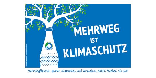 """Allianz für Mehrweg / Kampagne """"Mehrweg ist Klimaschutz"""""""