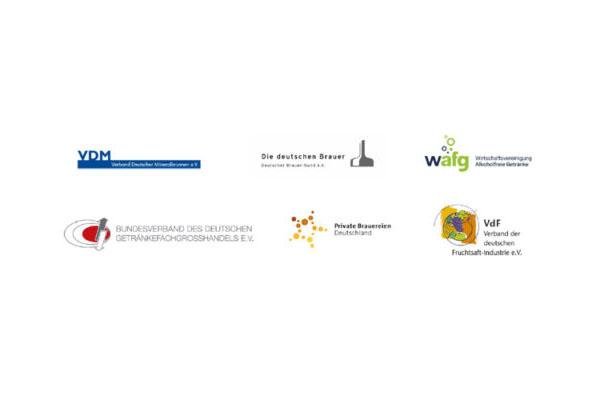 Gemeinsame Presseerklärung der Verbände der Getränkewirtschaft: Weichenstellung für das Mehrwegsystem