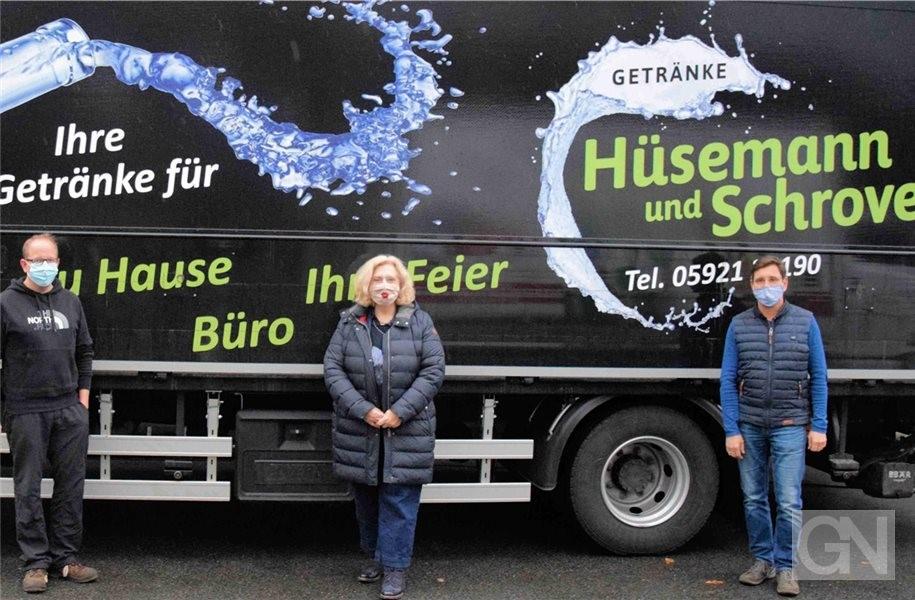 Bundestagsabgeordnete Dr. Daniela De Ridder besucht Getränkefachgroßhandel Hüsemann und Schroven