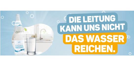 """Kampagne """"Pro Mineralwasser"""""""